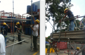 metal scaffolding erection course singapore