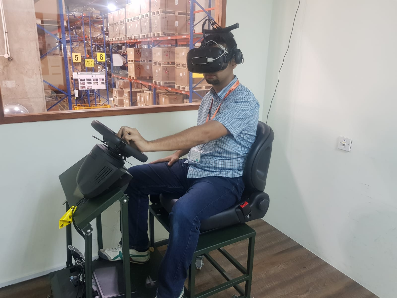 MHE Driving in VR